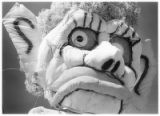 Close-up of Zozobra's head, Santa Fe, New Mexico
