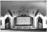 Interior of Lensic Theater from the balcony, Santa Fe, New Mexico
