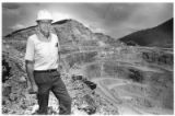 Dick Graeme at Molycorp Mine, Questa, New Mexico