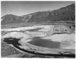 Settling pond at Molycorp Mine, Questa, New Mexico