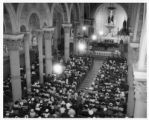 Service in St. Francis Cathedral for Our Lady of Fatima, Santa Fe, New Mexico