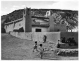 Unidentified residence, Rancho de Taos, New Mexico