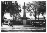 Monument, Plaza, Santa Fe, New Mexico