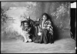 Navajo woman and papoose