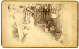"""A Moqui Blanket Weaver and Room"" Hopi, Arizona"