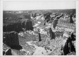 Aerial view, Canyon de Chelly, Arizona