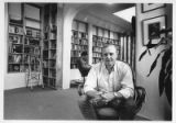 Jamil Kilbride in his bookstore, The Ark, at 133 Romero Street