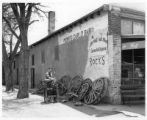 Side of What-Not-Shop, Cerrillos, New Mexico