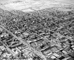 Aerial view of Alamogordo, New Mexico