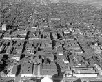 Aerial view of downtown Roswell, New Mexico