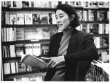 Poet Mei-mei Berssenbrugge reading at Collected Works, Santa Fe, New Mexico