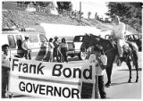 Attorney Frank Bond campaigning as Republican Governor, Santa Fe, New Mexico