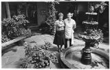 Claudia and Ernie Bolleter, owners of Ernie's Restaurant on Old Santa Fe Trail, Santa Fe, New...
