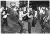 Patrons dancing to reggae music at Club West, Santa Fe, New Mexico