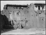 Building at Acoma Pueblo, New Mexico