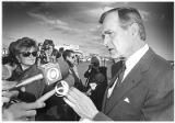 Republican presidential candidate George H. Bush campaigns in Santa Fe, New Mexico republican...