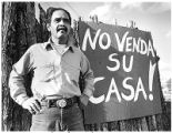 Felip Cabeza de Vaca, neighborhood political activist, Santa Fe, New Mexico
