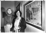 "Susan Campbell and Sandra D'Emilio, authors of ""Visions and Visionaries"", Santa Fe, New..."