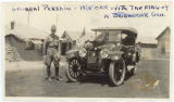 General John Pershing and his car