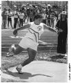 Carla Garrett, star athlete at Santa Fe High School, New Mexico