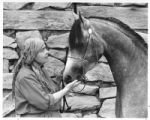 Potter Priscilla Hoback with horse Chakra