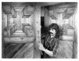 Woodworker Wilberto Miera making traditional doors