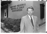 Truman Johnson, CEO of Century Federal Savings and Loan, Santa Fe