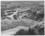 View of Acoma from atop the rock, Acoma Pueblo, New Mexico
