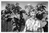 Bill and Alice Peden, operators of a tree farm behind The College of Santa Fe