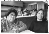 Janice and Tessie Naranjo run the Senior Citizen Center at Santa Clara Pueblo