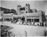 El Onate Theater (Cassell Building), Plaza at Lincoln Avenue and Palace Avenue, Santa Fe, New...