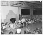 Girls performing Laguna skit at Cimarroncita Ranch Camp