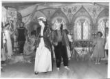 Theatrical production with Renaissance dress at Cimarroncita Ranch Camp