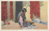 """The Red-Pepper Lady, Hopi Indian"""