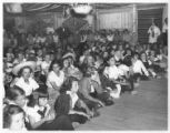 Camper audience watches a performance at Cimarroncita Ranch Camp
