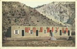 """A Mexican Home, New Mexico"""
