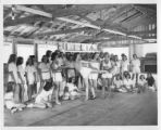 Demonstrating a pose in dance class at Cimarroncita Ranch Camp