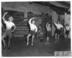 Ballet class at Cimarroncita Ranch Camp