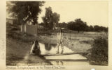 Principal irrigating canal at the Pueblo of San Juan