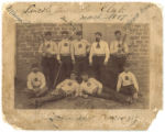 Lincoln baseball club, Lincoln, New Mexico.