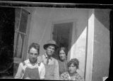 Group, possibly including Amy Brown on right, in New Mexico