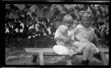 Luella May Twitchell (1912-) and Mary Baker Twitchell (1908-), daughters of Wirt Beecher...