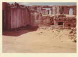 Older room being razed for remodelling, Acoma Pueblo, New Mexico