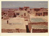 Acoma Pueblo with Mount Taylor in background, New Mexico