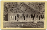 """A Mexican Home (Ranchita)."" Adobe house, Embudo, New Mexico"