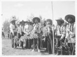 White Clan at Jicarilla Apache Fiesta near Dulce, New Mexico