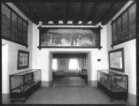 Entrance lobby, Palace of the Governors, Santa Fe, New Mexico