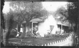 Family and home, Kingston, New Mexico