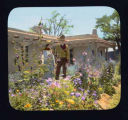"""In the Flower Garden, San Gabriel Ranch, Alcalde, New Mexico"""