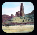 """Obelisk, Canyon de Chelly, New Mexico"""